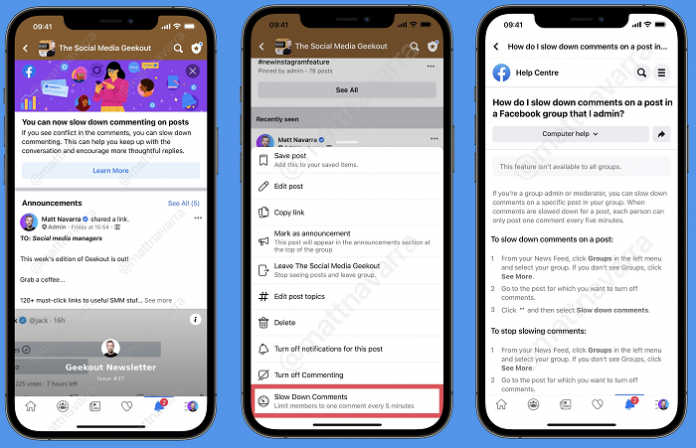 Facebook Adds New Option