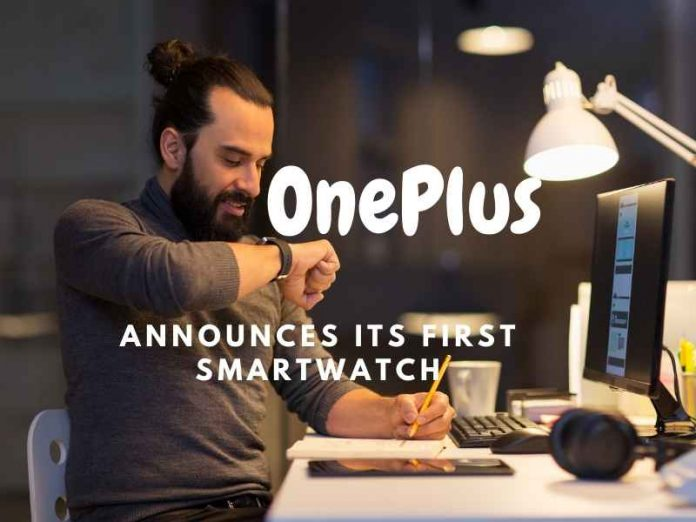 OnePlus announces its first smartwatch