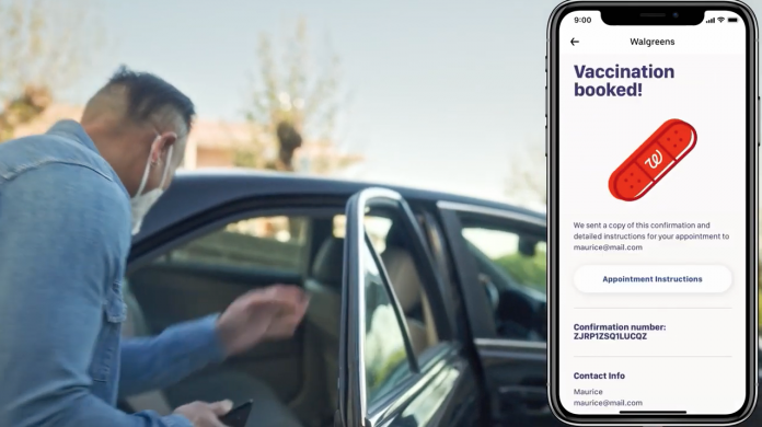 Uber adds vaccine booking