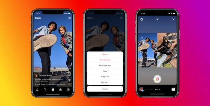 Instagram officially launches Remix on Reels