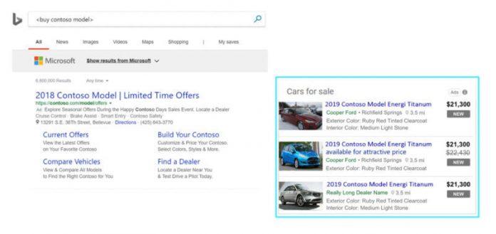 Microsoft automotive ads