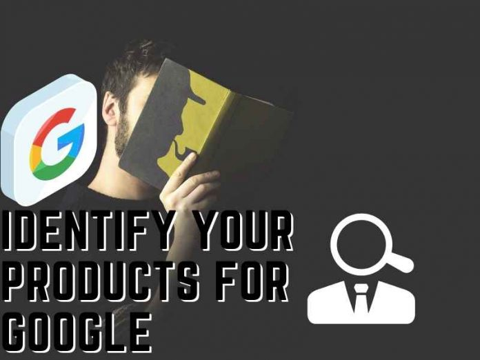 identify your products for Google
