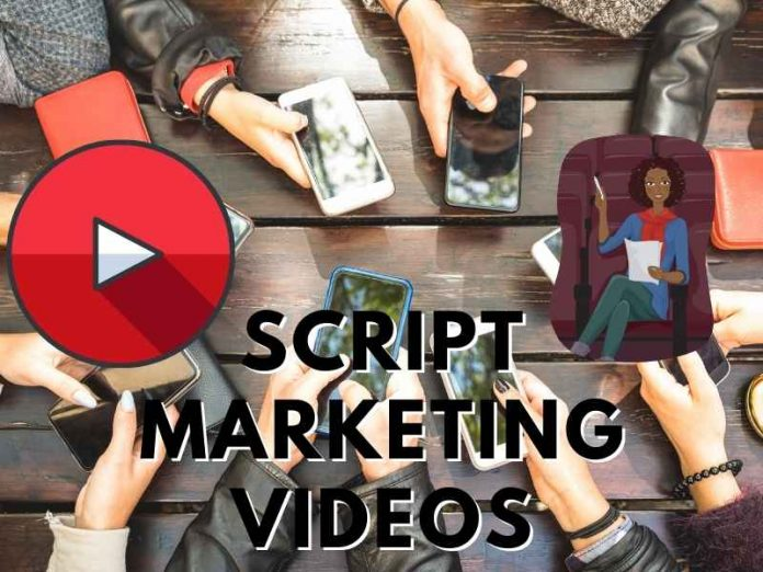 script marketing videos