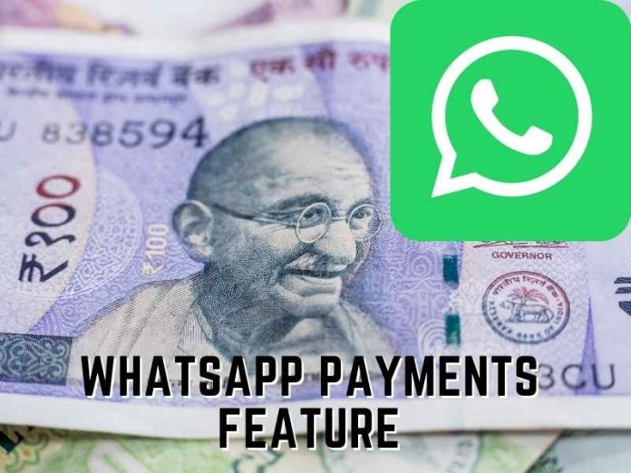 WhatsApp Payments Feature In India