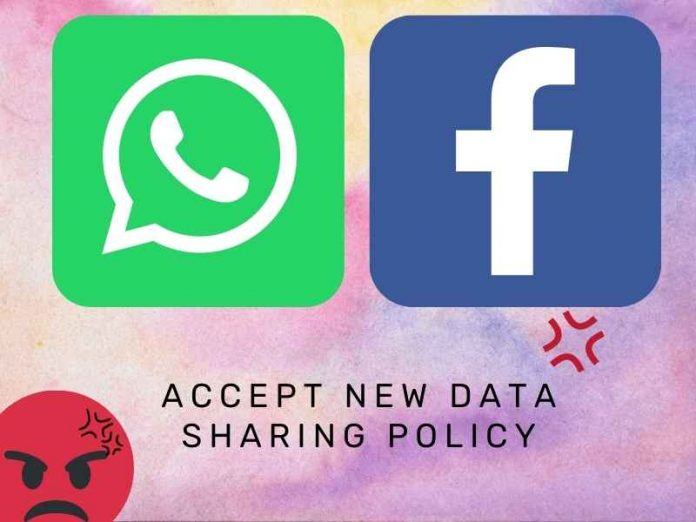 Accept Its New Data Sharing Policy