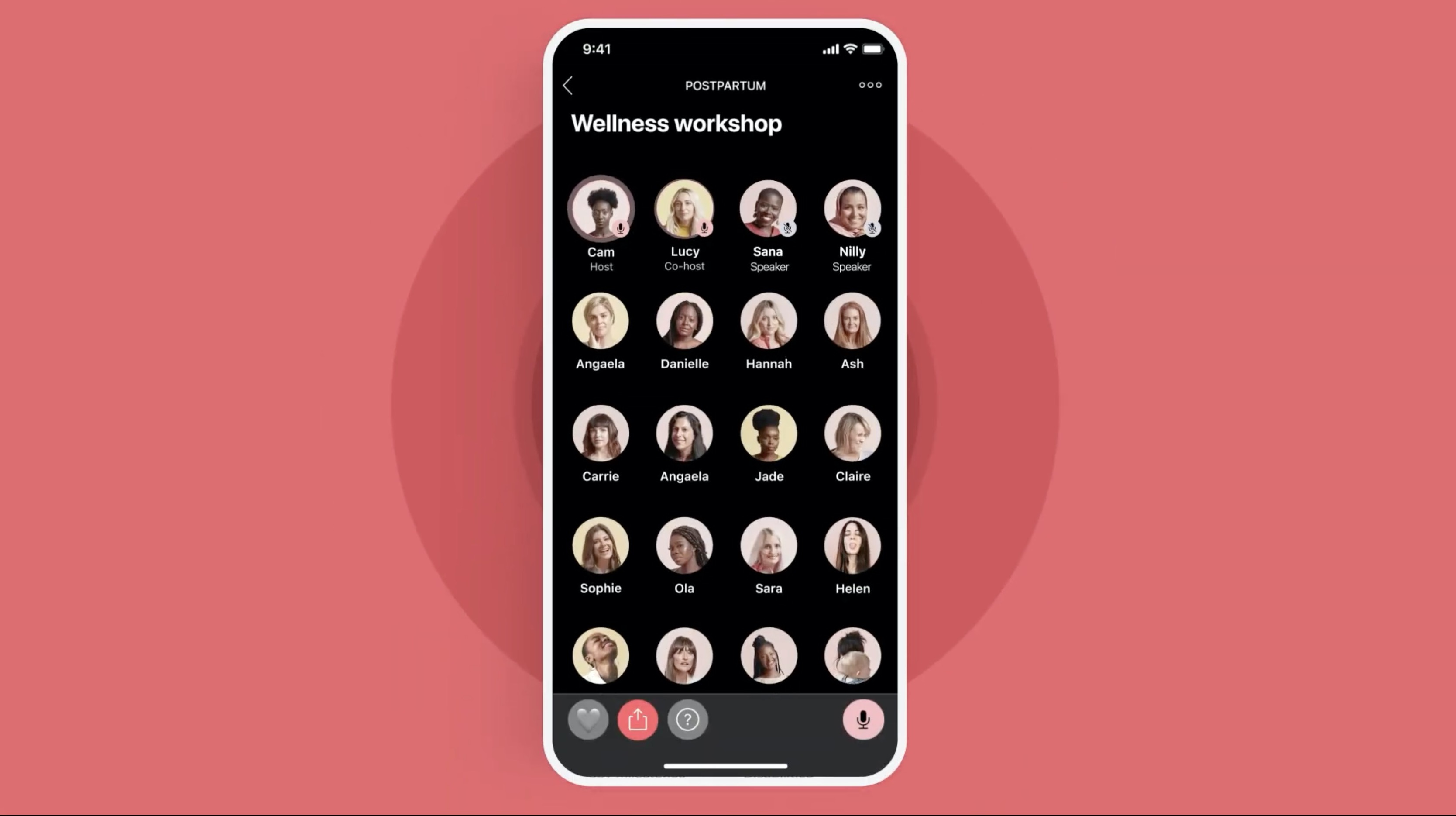 Social networking app for women, Peanut, adds live audio rooms