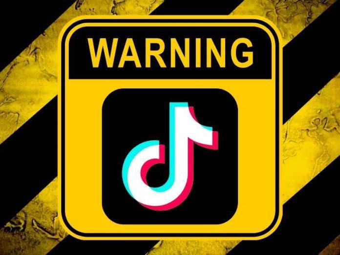 Warning on TikTok