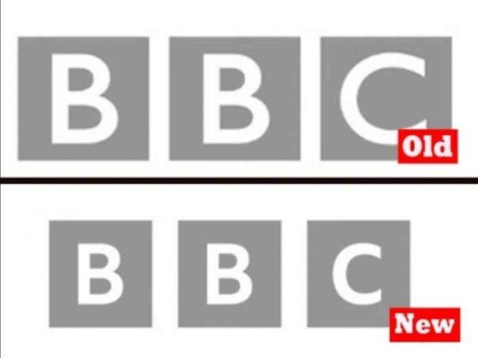 new BBC logo
