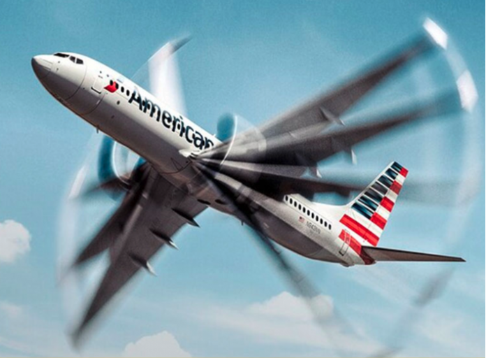 American Airlines is giving 30 minutes of free TikTok